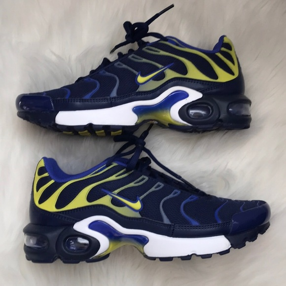 low priced b3f16 b7814 Nike air max tn rare blue shoes NWT